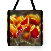 Cluisiana Tulips Triptych  Tote Bag by Peter Piatt