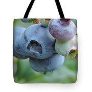 Clump Of Blueberries 2 Tote Bag