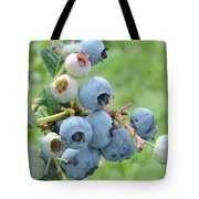 Clump Of Blueberries Tote Bag