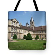 Cluny Abbey - Burgundy Tote Bag