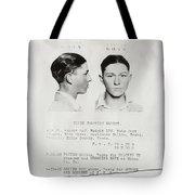 Clyde Champion Barrow Mugshot - Dallas Texas  Tote Bag
