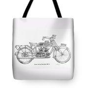Clyno-harley-davidson Tote Bag