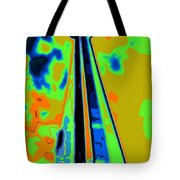 Cn Tower Abstract Tote Bag