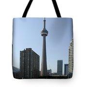 C N Tower Toronto Tote Bag