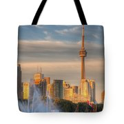 Cn Tower Toronto Tote Bag