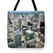 Cn Tower View Tote Bag