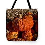 Knarly Pumpkin Tote Bag