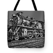 Cnr Number 47 Bw Tote Bag