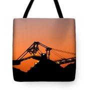 Coal Loader Tote Bag