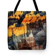 Coal Mine Canyon Aglow Tote Bag