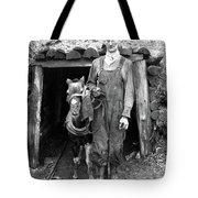 Coal Miner & Mule 1940 Tote Bag