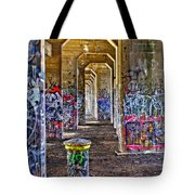 Coal Piers Tote Bag