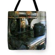 Coal Stove Tote Bag