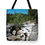 Coarsegold Creek Bed In Park Sierra-ca Tote Bag