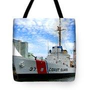 Coast Guard Cutter Taney Tote Bag