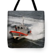Coast Guard In Action Tote Bag