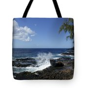Coast Of Kauai Tote Bag