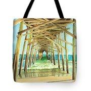 Coastal Cathedral  Tote Bag