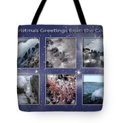 Coastal Christmas Tote Bag