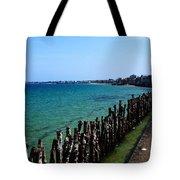 Coastal City Of St Malo France Tote Bag