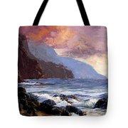 Coastal Cliffs Beckoning Tote Bag
