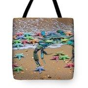 Coastal Crab Collection Tote Bag