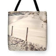 Coastal Dunes In Holland Tote Bag