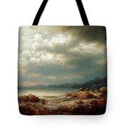 Coastal Landscape Tote Bag