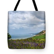 Coastal Overlook From Eype Tote Bag