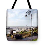 Coastal Overview At Lyme Regis Tote Bag