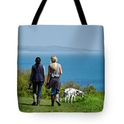 Coastal Path Walk Tote Bag