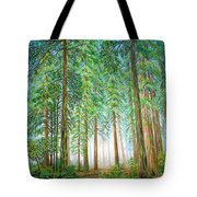 Coastal Redwoods Tote Bag