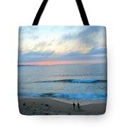 Coastal Ribbon Candy Tote Bag