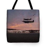 Coastal Spitfires Tote Bag