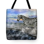 Coastal Stripes I Tote Bag by Betsy Knapp