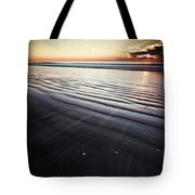 Coastal Sunrise Seascape Contemporary Relaxing Wall Art On Canvas Prints Tote Bag