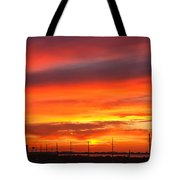 Coastal Sunset Tote Bag