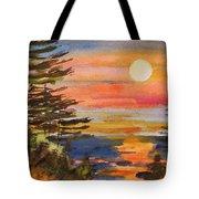 Coastal Sunset Tote Bag