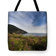 Coastal Wildflowers Of Oregon Tote Bag