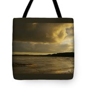 Coastal Winters Afternoon 2 Tote Bag by Amy-Elizabeth Toomey