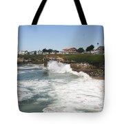 Coastline  Santa Cruz -  California Tote Bag