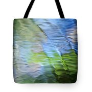 Coastline Mosaic Abstract Art Tote Bag by Christina Rollo