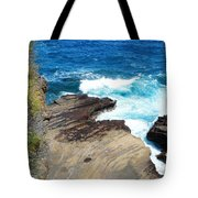 Coastline Splendor Tote Bag