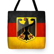 Coat Of Arms And Flag Of Germany Tote Bag