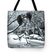 Coat Of Ice - Winter In New York Tote Bag