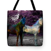 Coats Of Many Colors Tote Bag