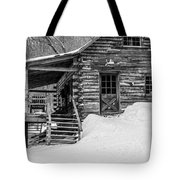 Slayton Pasture Cobber Cabin Trapp Family Lodge Stowe Vermont Tote Bag