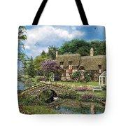 Cobble Walk Cottage Tote Bag