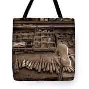 Cobblers Tools Bw Tote Bag