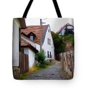 Cobblestone Road Tote Bag